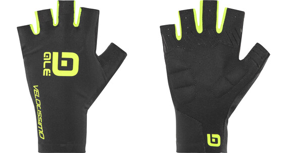 Alé Cycling Velocissimo Gloves black-fluo yellow